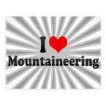 I love Mountaineering Post Card