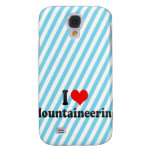 I love Mountaineering Samsung Galaxy S4 Cover