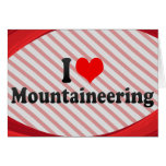 I love Mountaineering Stationery Note Card