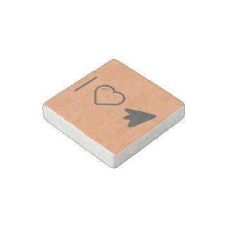 I Love Mouse Clicks Stone Magnet