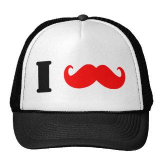 I love moustache - add you text! cap