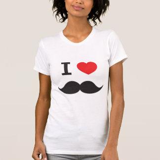 I Love Moustache T-Shirt