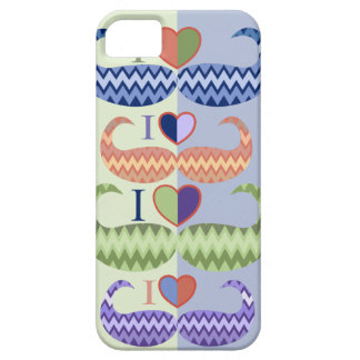 I Love Moustaches trendy iPhone 5 case