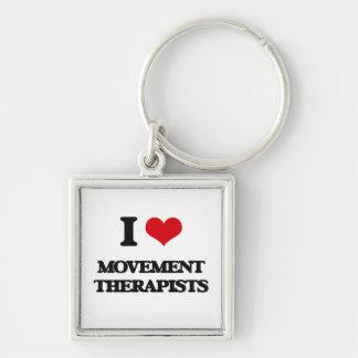 I love Movement Therapists Keychains