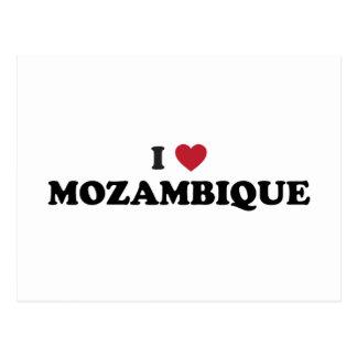 I Love Mozambique Postcard