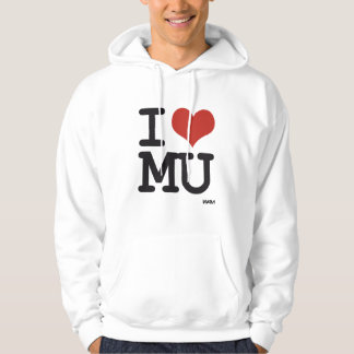 I love MU Hooded Pullover