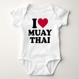 I love Muay Thai T-shirts