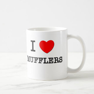 I Love Mufflers Coffee Mug