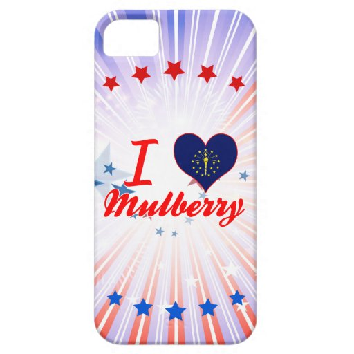 I Love Mulberry, Indiana iPhone 5/5S Cover