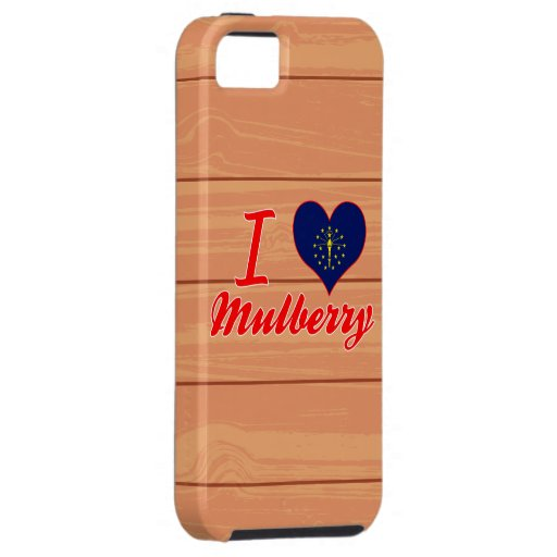 I Love Mulberry, Indiana iPhone 5 Case