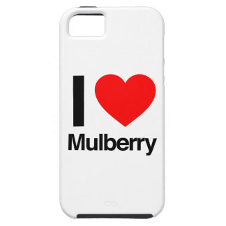 i love mulberry iPhone 5 cover