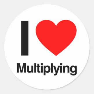i love multiplying stickers
