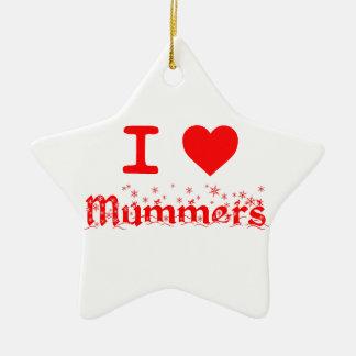 I LOVE MUMMERS CHRISTMAS ORNAMENT