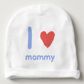 I Love Mummy Baby Beanie