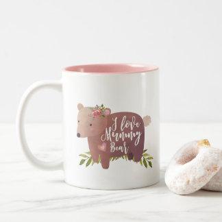 i love mummy cute bear mug mothers day