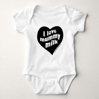 I love mummy milk baby bodysuit