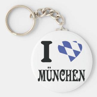 I love München icon Keychain
