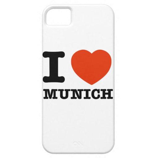 I Love Munich iPhone 5/5S Cases