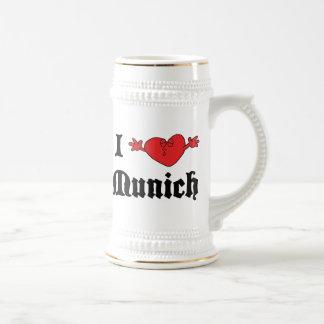 I Love Munich Gift Beer Stein