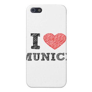I Love Munich iPhone 5/5S Covers