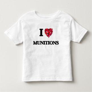 I Love Munitions T Shirts