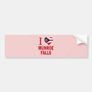 I love Munroe Falls, Ohio Bumper Stickers