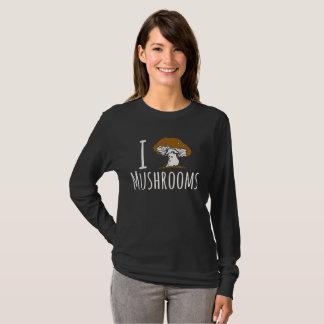 I Love Mushrooms Shirt, Mushroom Lover T-Shirt