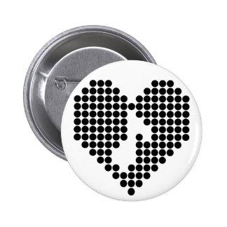 I love Music 6 Cm Round Badge