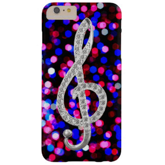 I Love Music G-clef Barely There iPhone 6 Plus Case