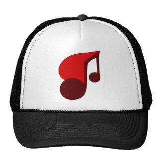 I Love Music Mesh Hats