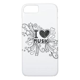 I love Music iPhone 7 Case