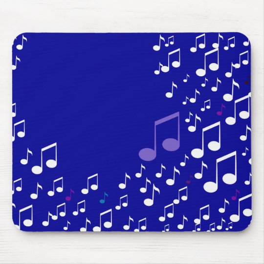 I Love Music_Mousepad_by Elenne Mouse Mat