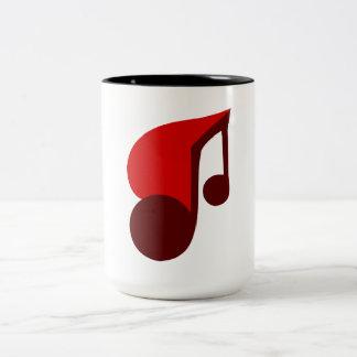 I Love Music Coffee Mugs
