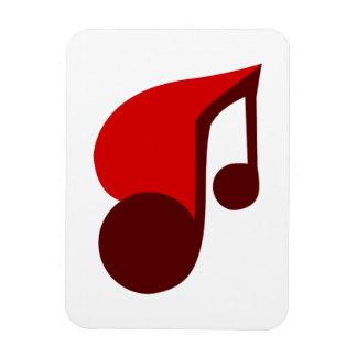 I Love Music Vinyl Magnets