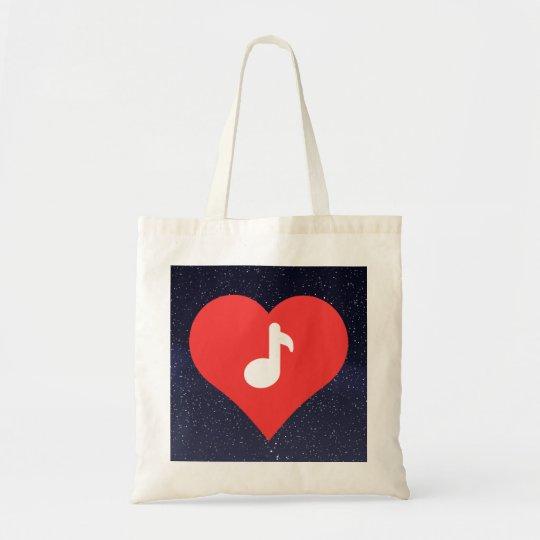 I Love Music Teachers Tote Bag