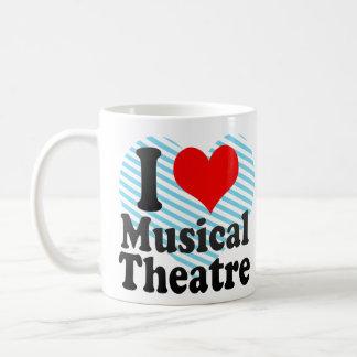 I love Musical Theatre Basic White Mug