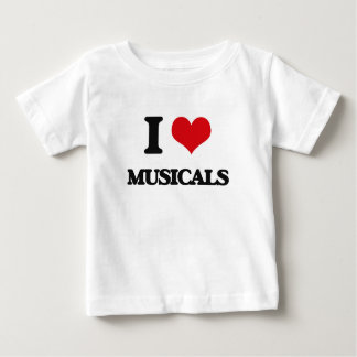 I Love Musicals T Shirts