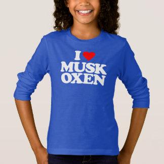 I LOVE MUSK OXEN T-Shirt