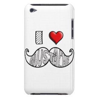 I Love Mustache Case-Mate iPod Touch Case