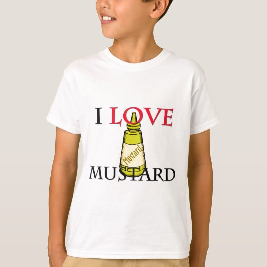 I Love Mustard T-Shirt
