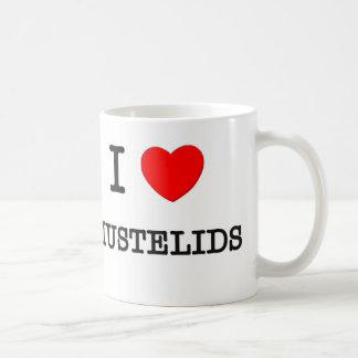 I Love MUSTELIDS Basic White Mug