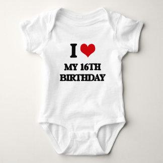 I love My 16Th Birthday T Shirt