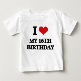 I love My 16Th Birthday T Shirts