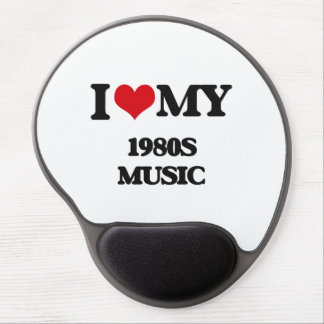 I Love My 1980S MUSIC Gel Mouse Pad