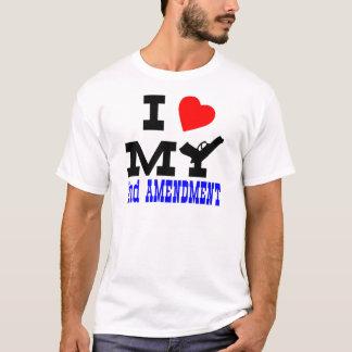 I Love My 2nd Amendment T-Shirt