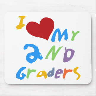 I Love My 2nd Graders Tshirts and Gifts Mouse Pad