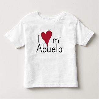 I love my abuela toddler T-Shirt
