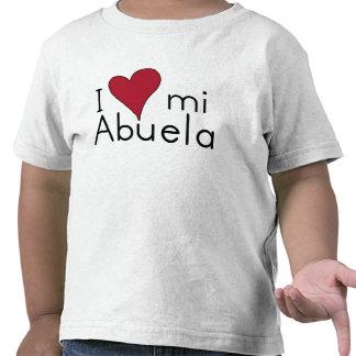 I love my abuela tee shirt