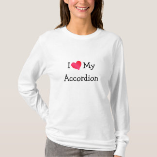 I Love My Accordion T-Shirt