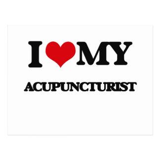 I love my Acupuncturist Postcard